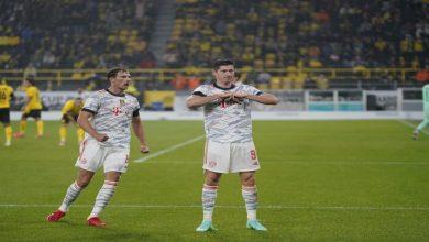 صورة نتيجة مباراة بايرن ميونيخ وبوروسيا دورتموند اليوم في كأس السوبر الألماني