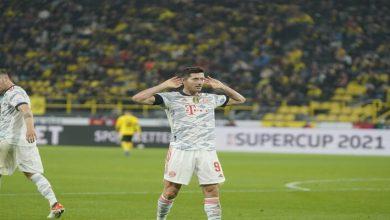صورة أهداف مباراة بايرن ميونيخ وبوروسيا دورتموند (3-1)  اليوم في كأس السوبر الألماني