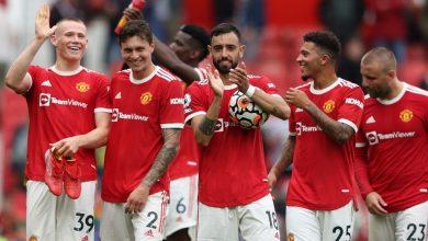 صورة تشكيل مباراة مانشستر يونايتد وولفرهامبتون اليوم في الدوري الانجليزي