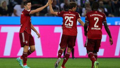 صورة أهداف مباراة بايرن ميونخ وبوروسيا مونشنغلادباخ (1-1) اليوم فى الدوري الألماني