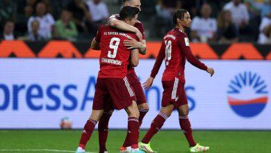صورة نتيجة مباراة بايرن ميونيخ وبوروسيا مونشنغلادباخ اليوم في الدوري الالماني