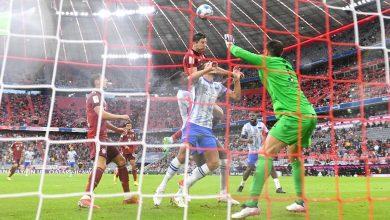 صورة أهداف مبارة بايرن ميونيخ وهيرتا برلين (5-0) اليوم في الدوري الالماني