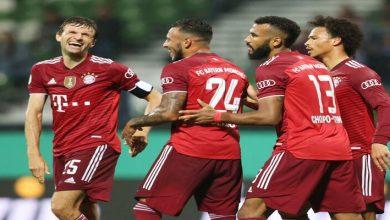 صورة أهداف مباراة بايرن ميونيخ وبريمر (12-0) اليوم في كأس المانيا