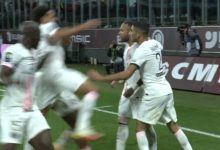 صورة أهداف مباراة باريس سان جيرمان وميتز (2-1) اليوم في الدوري الفرنسي