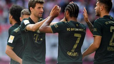 صورة أهداف مباراة بايرن ميونيخ وبوخوم (7-0) اليوم في الدوري الالماني