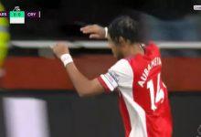 صورة أهداف مباراة ارسنال وكريستال بالاس (1-1) اليوم فى الدوري الإنجليزي