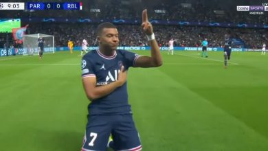 صورة اهداف مباراة باريس سان جيرمان ولايبزيج (2-2) اليوم فى دوري أبطال أوروبا