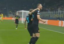 صورة أهداف مباراة انتر ميلان وشيريف تيراسبول اليوم فى دوري أبطال أوروبا
