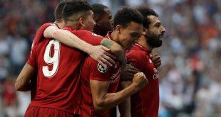 تردد القنوات المفتوحة الناقلة لمباراة ليفربول ضد نوريتش سيتي مع موعد المباراة