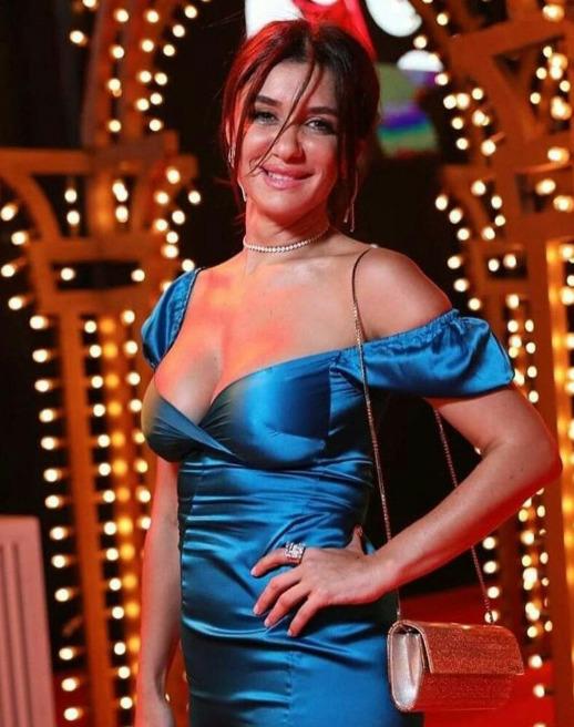 فستان غادة عادل في مهرجان الجونة السينمائي