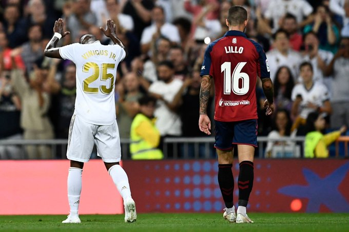 نتيجة مباراة ريال مدريد ضد أوساسونا | أهداف فوز ريال مدريد 2-0 علي أوساسونا اليوم ليتصدر الليجا