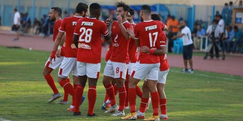 نتيجة مباراة أسوان ضد الأهلي | أهداف فوز الاهلي 5 -1 علي اسوان في الدوري المصري