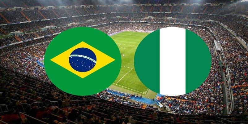 القنوات الناقلة لمباراة البرازيل ضد نيجيريا مع موعد المباراة الدولية الودية اليوم