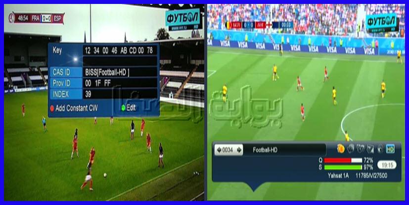 تردد قناة فوتبول Football HD الجديد الناقلة لمباريات دوري أبطال اوروبا وأبطال أسيا
