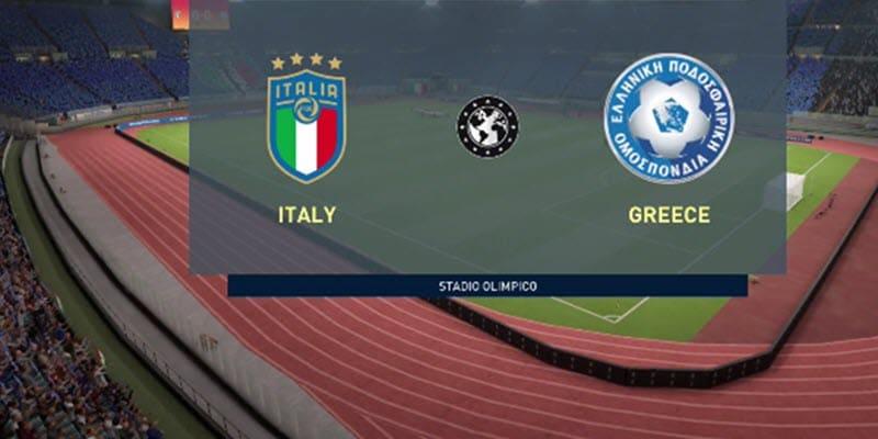 القنوات الناقلة لمباراة إيطاليا ضد اليونان بث مباشر مع موعد المباراة اليوم