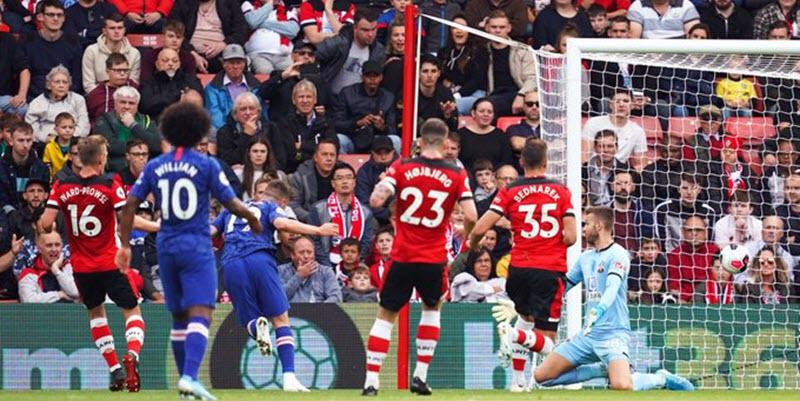 نتيجة مباراة تشيلسي | أهداف فوز تشيلسي 4 -1 علي ساوثهامبتون في الدوري الانجليزي