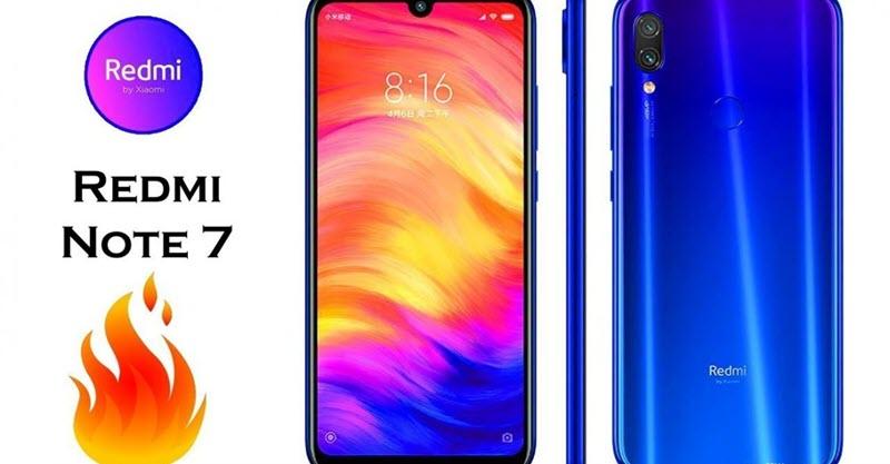 سعر ومواصفات هاتف شاومي ريدمي نوت Xiaomi Redmi Note 7