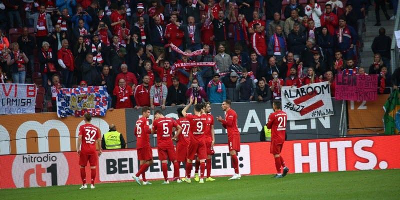 نتيجة مباراة بايرن ميونخ | ملخص أهداف تعادل أوجسبورج 2 - 2 مع بايرن ميونخ في الدوري الالماني