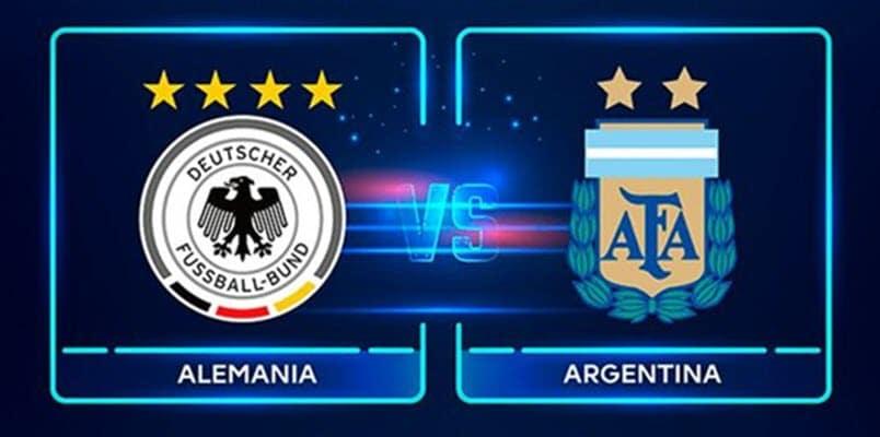 القنوات الناقلة لمباراة ألمانيا ضد الأرجنتين بث مباشر مع موعد المباراة اليوم