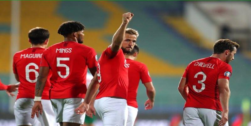 ملخص وأهداف فوز إنجلترا 6 - 0 علي بلغاريا في تصفيات يورو2020