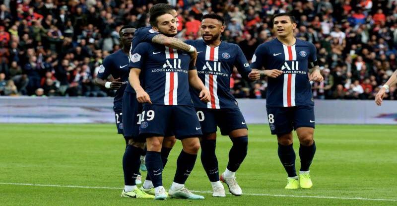 نتيجة مباراة باريس سان جيرمان | أهداف فوز باريس سان جيرمان 4 -0 علي انجيه في الدوري الفرنسي