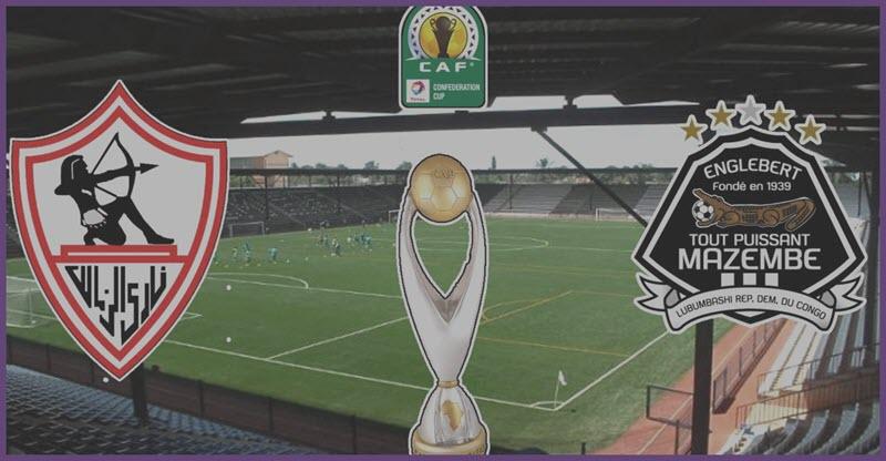 بث مباشر مباراة الزمالك ضد مازيمبي اليوم السبت 30-11-2019 في دوري أبطال أفريقيا