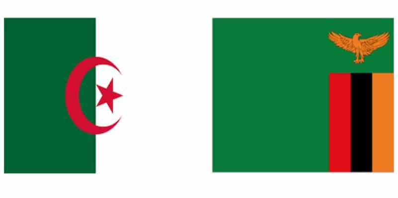 مشاهدة مباشرة مباراة الجزائر ضد زامبيا بث مباشر اليوم في تصفيات إفريقيا