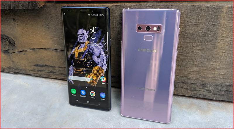 سعر ومواصفات هاتف سامسونج جالكسي نوت Samsung Galaxy Note 9 مع أهم المميزات والعيوب