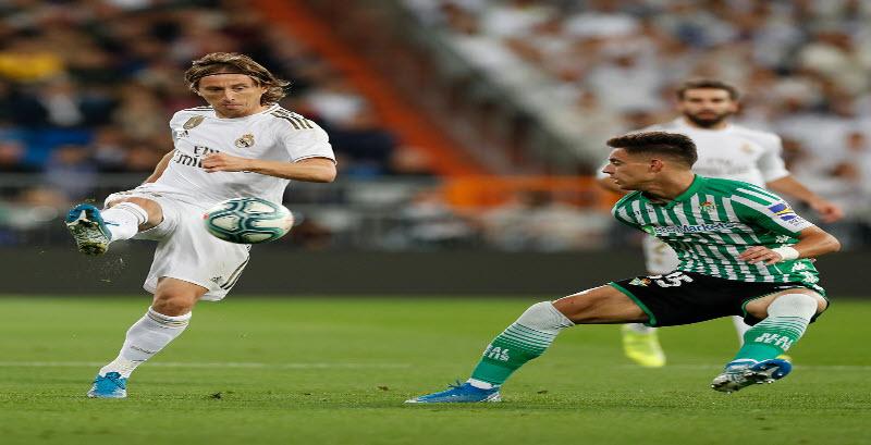 نتيجة مباراة ريال مدريد ضد ريال بيتيس مع ملخص الاهداف في الدوري الاسباني