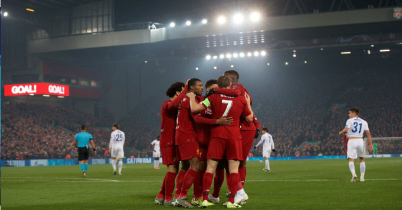 ترتيب مجموعة ليفربول بعد مباراة الجولة الرابعة مع موعد المباريات القادمة بدوري أبطال أوروبا