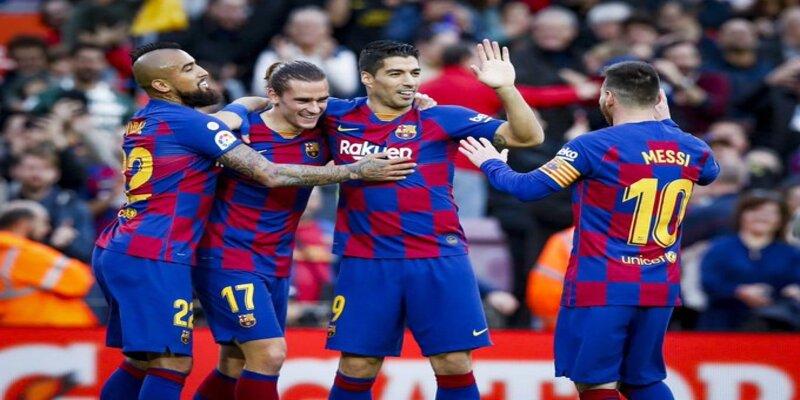 نتيجة مباراة برشلونة و ديبورتيفو ألافيس مع ملخص أهداف المباراة في الدوري الاسباني