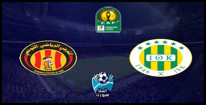 القنوات الناقلة لمباراة الترجي التونسي ضد شبيبة القبائل الجزائري اليوم في دوري أبطال افريقيا