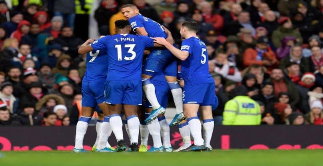 نتيجة مباراة مانشستر يونايتد وإيفرتون اليوم مع ملخص أهداف في الدوري الإنجليزي