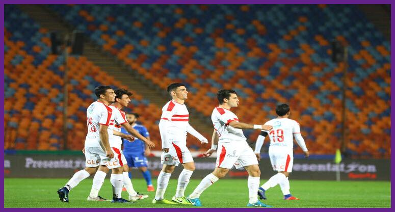 نتيجة مباراة الزمالك ووادي دجلة مع ملخص اهداف المباراة اليوم في الدوري المصري