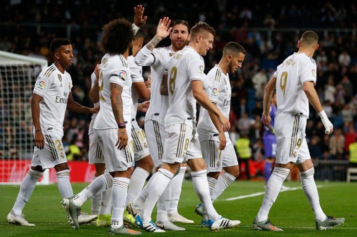 صورة نتيجة مباراة ريال مدريد وبلد الوليد مع ملخص اهداف المباراة اليوم في الدوري الاسباني