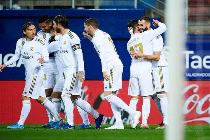 صورة نتيجة مباراة ريال مدريد واونيونيستا سالامنكا مع ملخص اهداف المباراة اليوم في كأس ملك إسبانيا