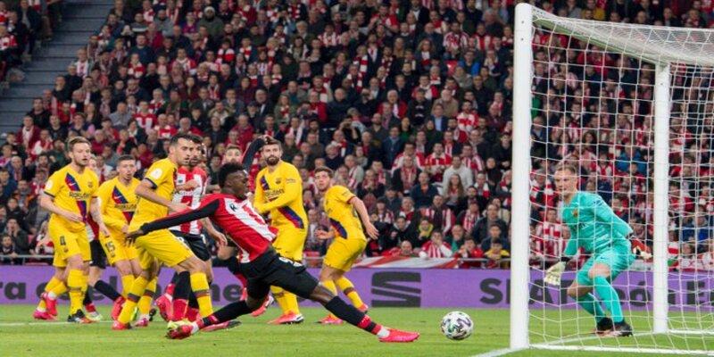 نتيجة مباراة مباراة برشلونة وأتلتيك بيلباو اليوم مع ملخص الأهداف في كأس ملك إسبانيا