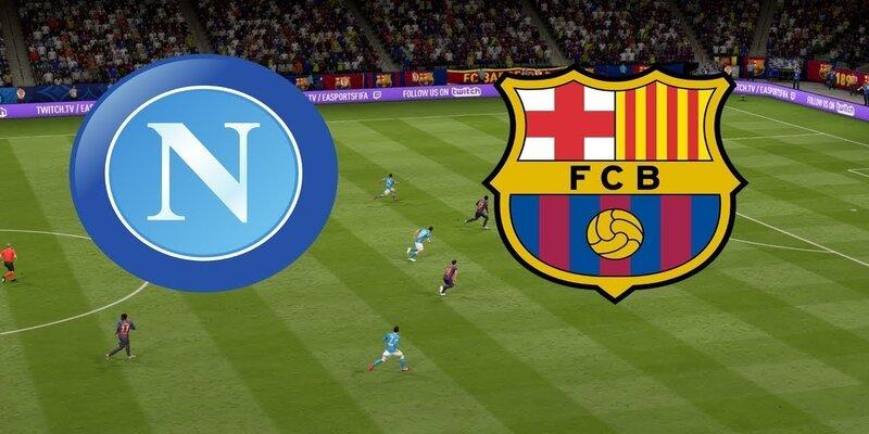 القنوات الناقلة لمباراة برشلونة ونابولي مع موعد المباراة اليوم في دوري أبطال أوروبا