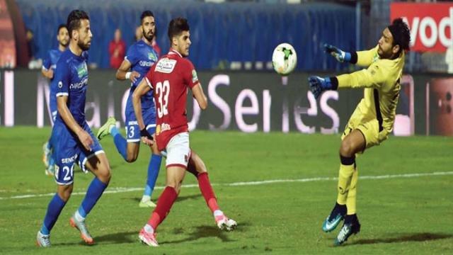 نتيجة مباراة الاهلي وسموحة مع ملخص اهداف المباراة اليوم في الدوري المصري