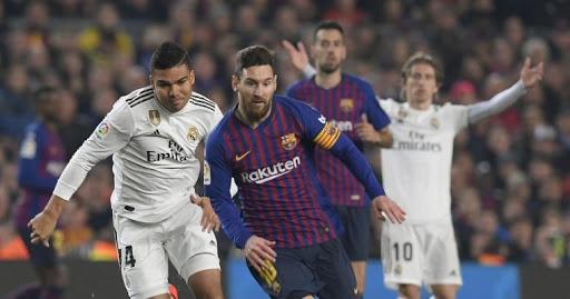 صورة نتيجة مباراة ريال مدريد وبرشلونة مع ملخص اهداف المباراة اليوم في الدوري الاسباني