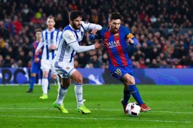 نتيجة مباراة برشلونة وريال سوسييداد مع ملخص اهداف المباراة اليوم في الدوري الاسباني