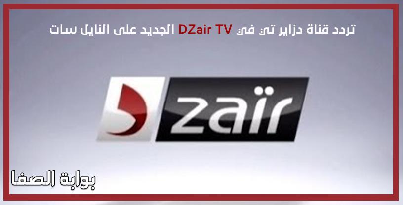 صورة تردد قناة دزاير تي في DZair TV الجديد على النايل سات