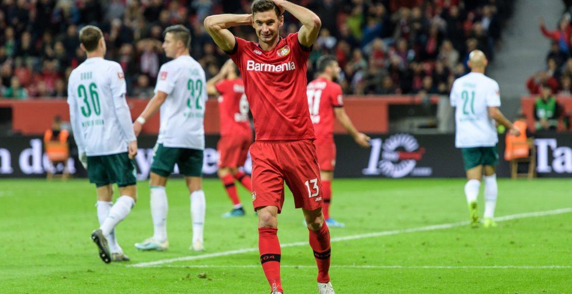 نتيجة مباراة باير ليفركوزن وفيردر بريمن مع اهداف المباراة اليوم فى الالمانى