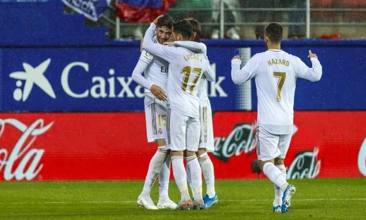 نتيجة مباراة ريال مدريد وايبار مع ملخص اهداف المباراة اليوم في الدوري الاسباني