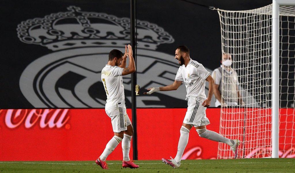 نتيجة مباراة ريال مدريد وريال مايوركا مع ملخص اهداف المباراة اليوم الاربعاء 24-6-2020 في الدوري الاسباني