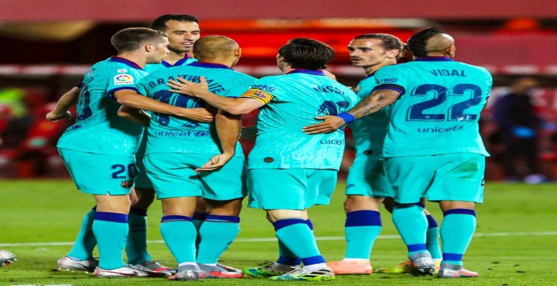 نتيجة مباراة برشلونة وريال مايوركا اليوم في الدوري الاسباني