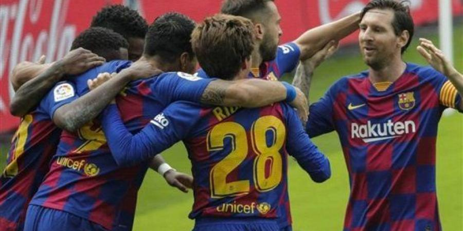 نتيجة مباراة برشلونة واوساسونا مع ملخص اهداف المباراة اليوم الخميس 16-7-2020 في الدوري الاسباني