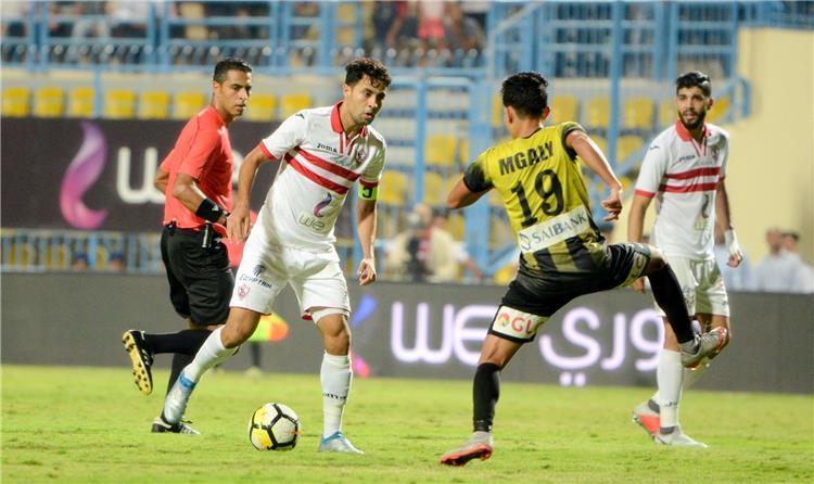 نتيجة مباراة الزمالك والمقاولون العرب مع اهداف المباراة اليوم الخميس 27-8-2020 فى الدورى المصرى