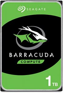 Seagate BarraCuda 1TB HDD 7200 RPM