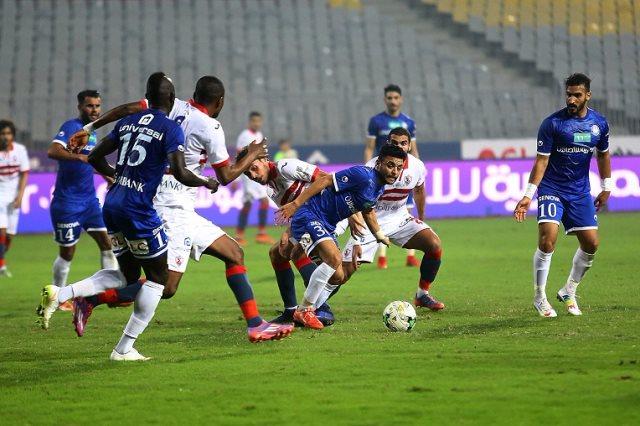 صورة اهداف مباراة الزمالك وسموحة اليوم الخميس 10-9-2020 فى الدورى المصرى الممتاز